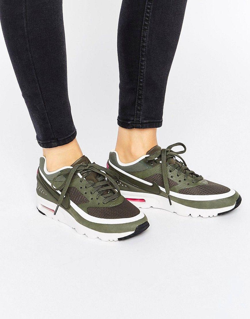 Cómpralo ya Zapatillas de deporte caqui Air Max 1 Ultra de Nike