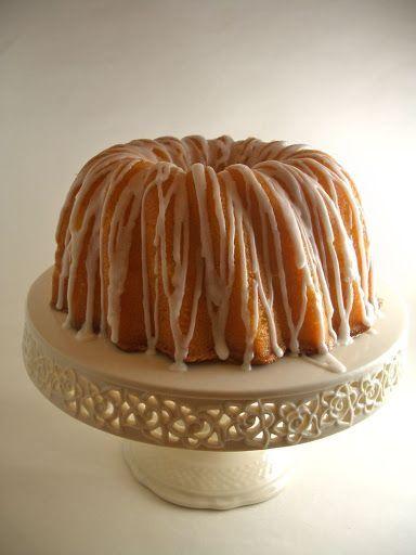 Georgia's Famous Lemon Sour Cream Pound Cake   - Cakes -