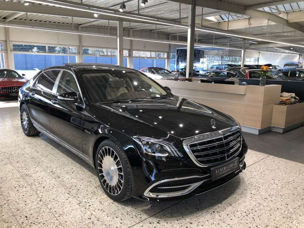 2018 mercedes-benz s 560 4matic limousine maybach black/beige 5