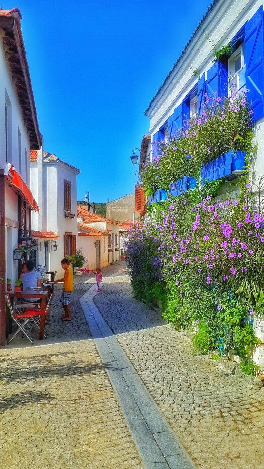 Seferihisar Sigacik Izmir Turkiye Una Calle Muy Bonita Tatil Yerleri Seyahat Seyahat Tutkusu