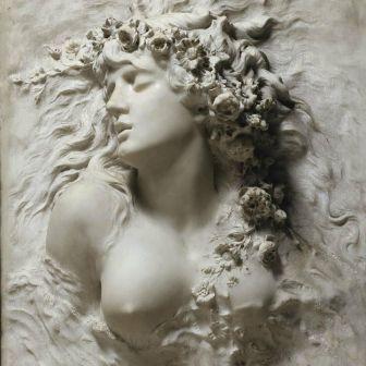 Ophelia by Sarah Bernhardt (1844- 1923)