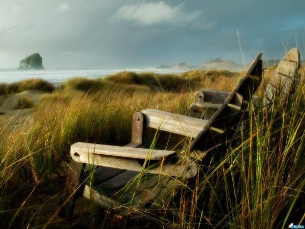 Sentado en la Tranquilidad
