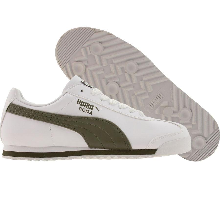 burnt olive Puma Roma L CCP shoes