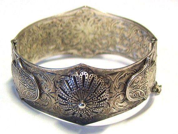 Filigree domes Berber Bracelet