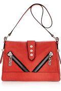 KENZO|Kalifornia medium leather shoulder bag|NET-A-PORTER.COM