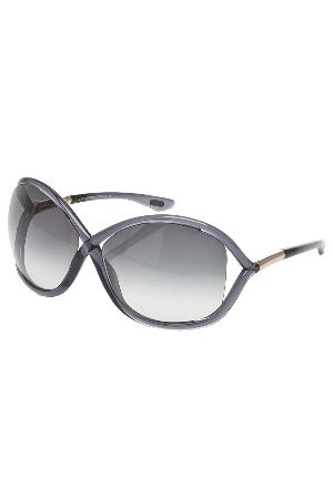 4b97bb32fc Tom Ford Ladies  Whitney Oversized Round Sunglasses in Dark Gray ...