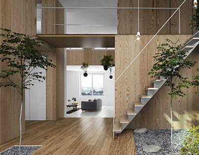 """다음 @Behance 프로젝트 확인: \u201cPrivate Apartments """"Smolny park""""\u201d https://www.behance.net/gallery/13036469/Private-Apartments-Smolny-park"""