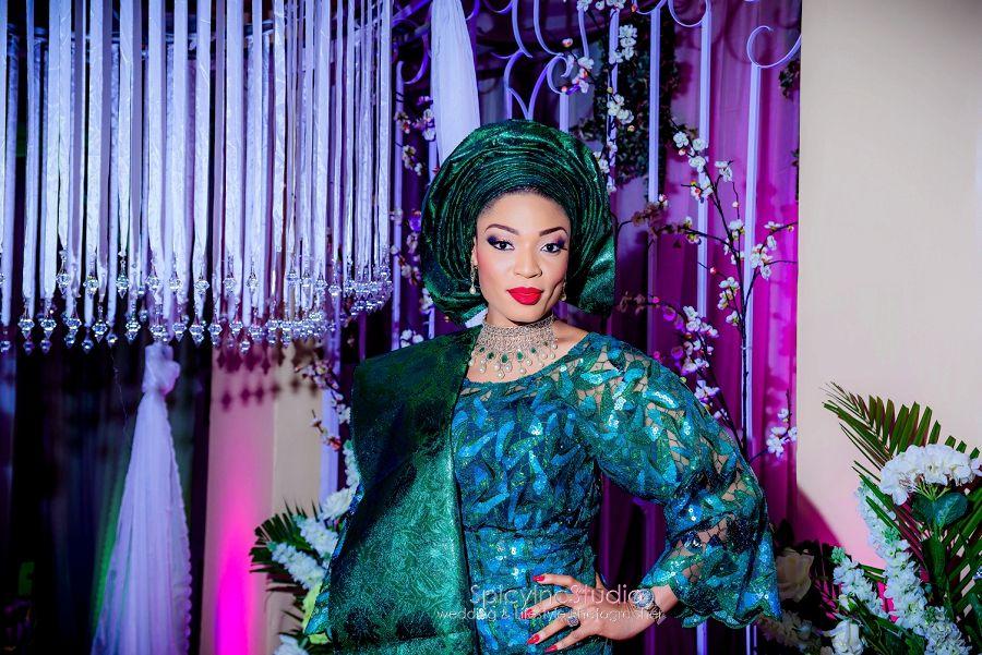 Adejoke azeez traditional wedding african wedding fashion