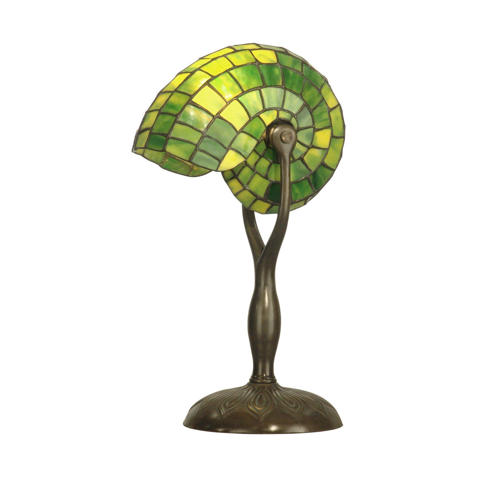 Dale tiffany green nautilus table lamp small designs lighting dale tiffany green nautilus table lamp small aloadofball Gallery