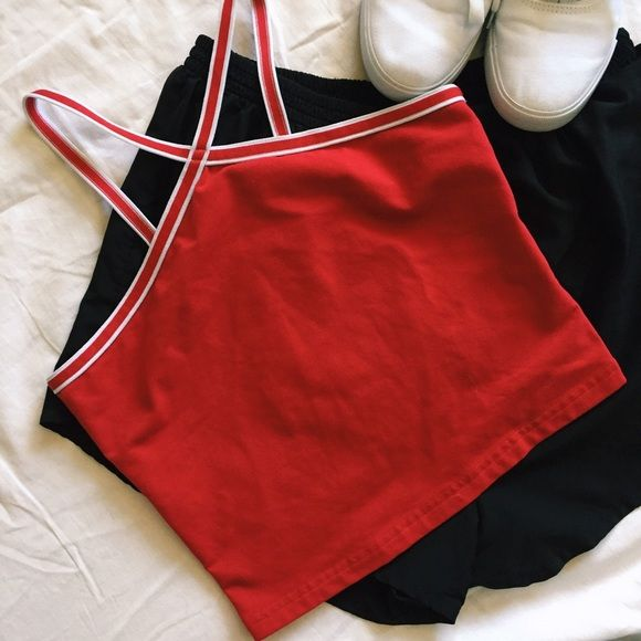 Vintage Athletic Crop Vintage Athletic Crop - calling all american apparel…