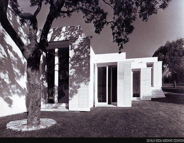 Entrecanales House Jose Antonio Coderch De Sentmenat Arch House Architecture Architect