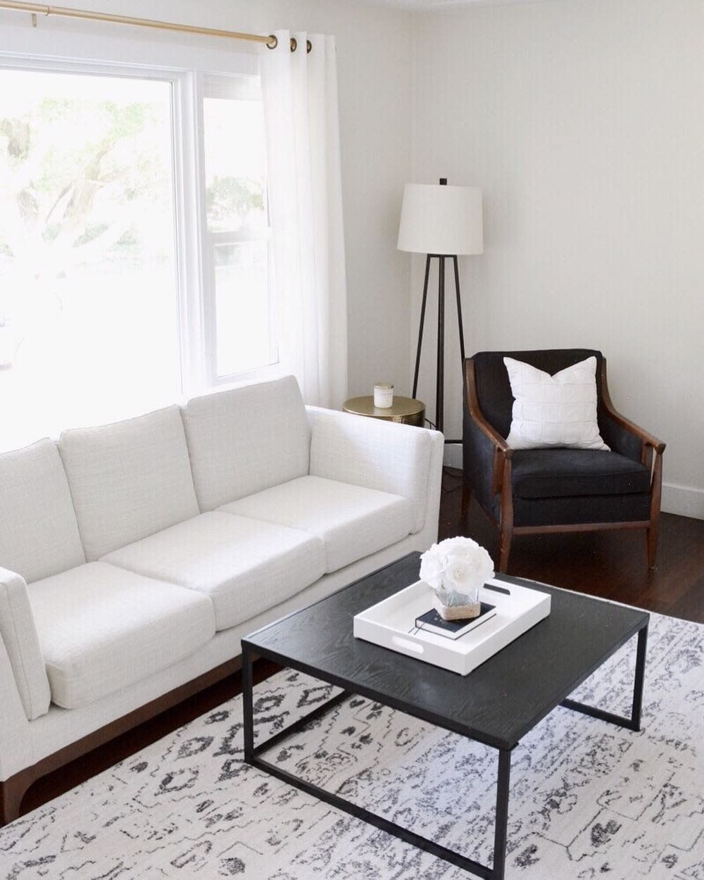 white fabric couch 3 seater solid wood legs article ceni modern rh pinterest ca