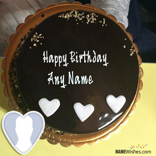 Terrific Awesome Chocolate Birthday Cake With Name With Images Cake Funny Birthday Cards Online Drosicarndamsfinfo