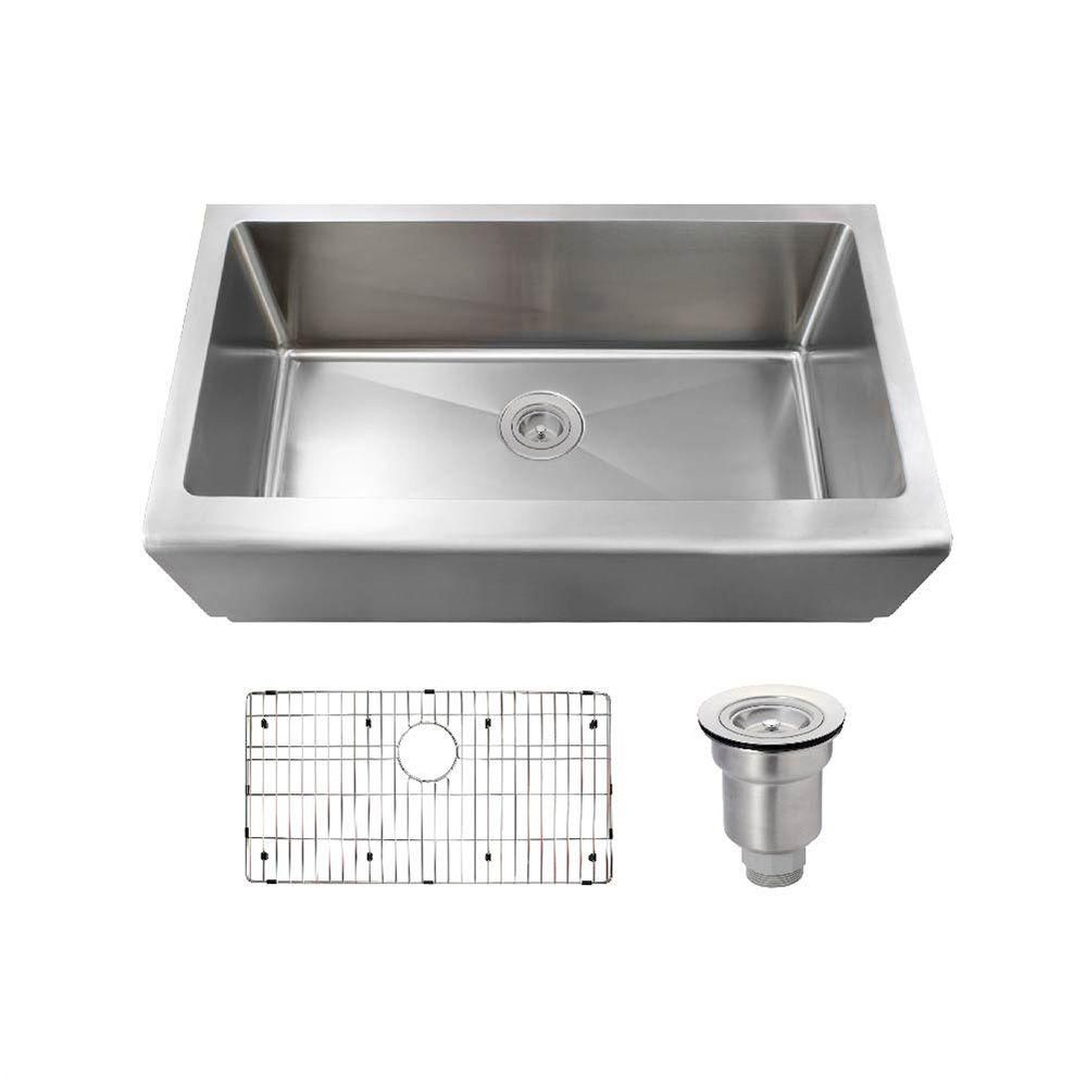 mr direct all in one farmhouse apron front stainless steel 32 3 4 in rh pinterest com