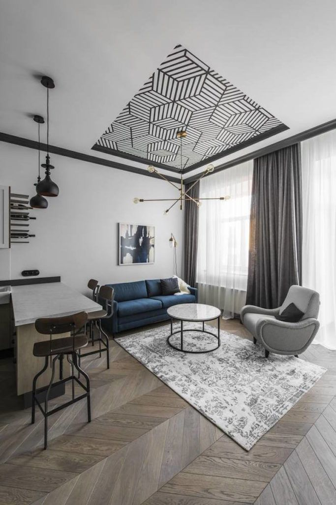 Small City Break Apartment With High Ceilings And Eclectic Delight