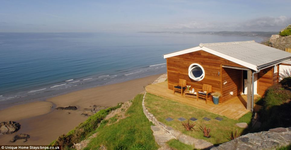location location the 6 500 clifftop hut that became a 100 000 a rh pinterest com