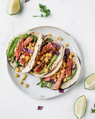 These Today You Me Everyone you know Spicy Salmon Tacos NEED  Recipe  bio S Jaroflemons     thefeedfeed foodblogfeed