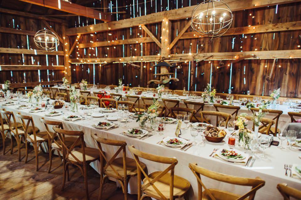 Tara Mandis Elegant Rustic Barn Wedding