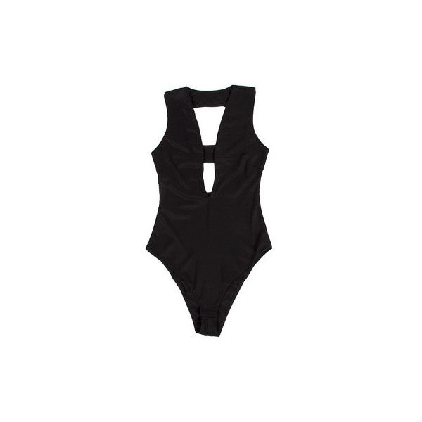 Dangerously Low Bodysuit ( 32) ❤ liked on Polyvore featuring intimates and  shapewear c9dd688e1