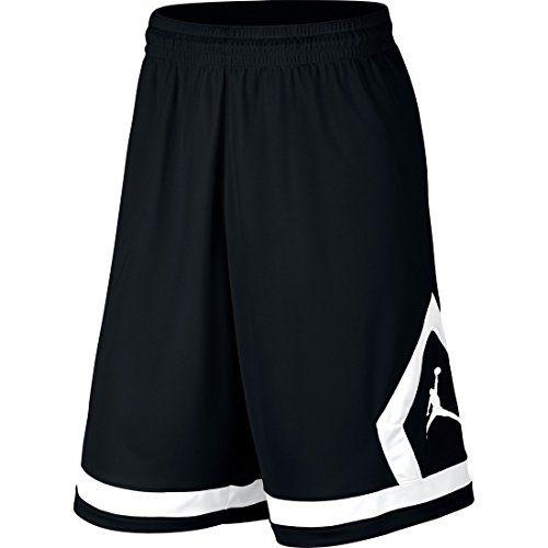 5d83c9805aa NIKE Nike Air Jordan Flight Diamond Men'S Basketball Shorts Black/White.  #nike #cloth #