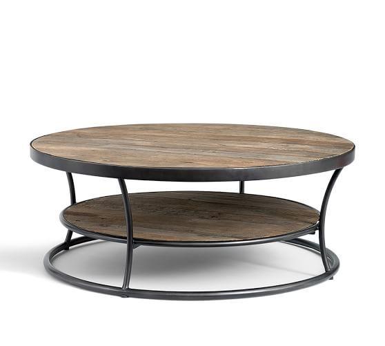 bartlett reclaimed wood coffee table keller residence pinterest rh pinterest com
