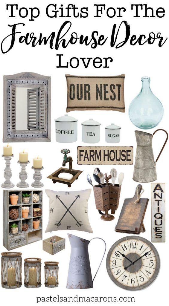 farmhouse gift ideas for the farmhouse decor lover farmhouse decor rh pinterest com