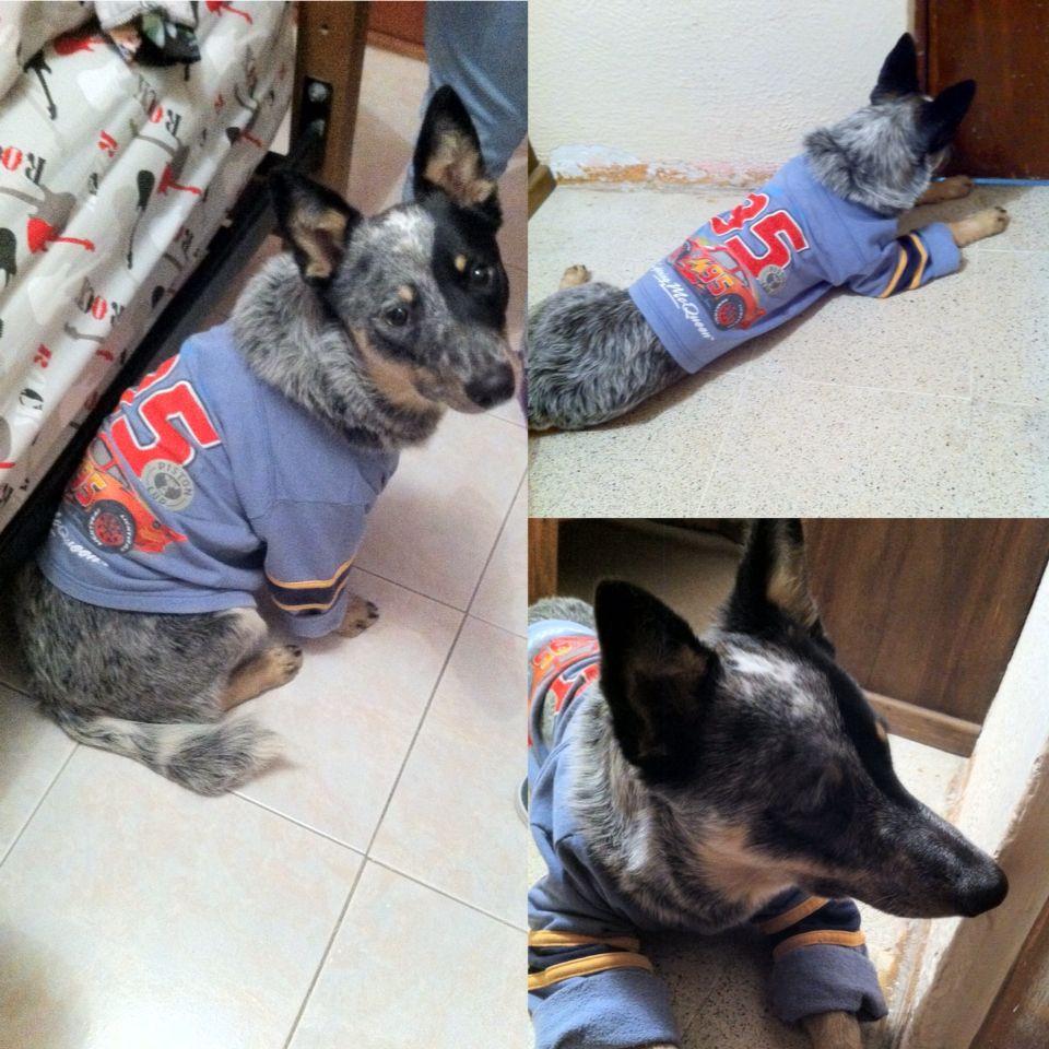 Kayla y su pijama!
