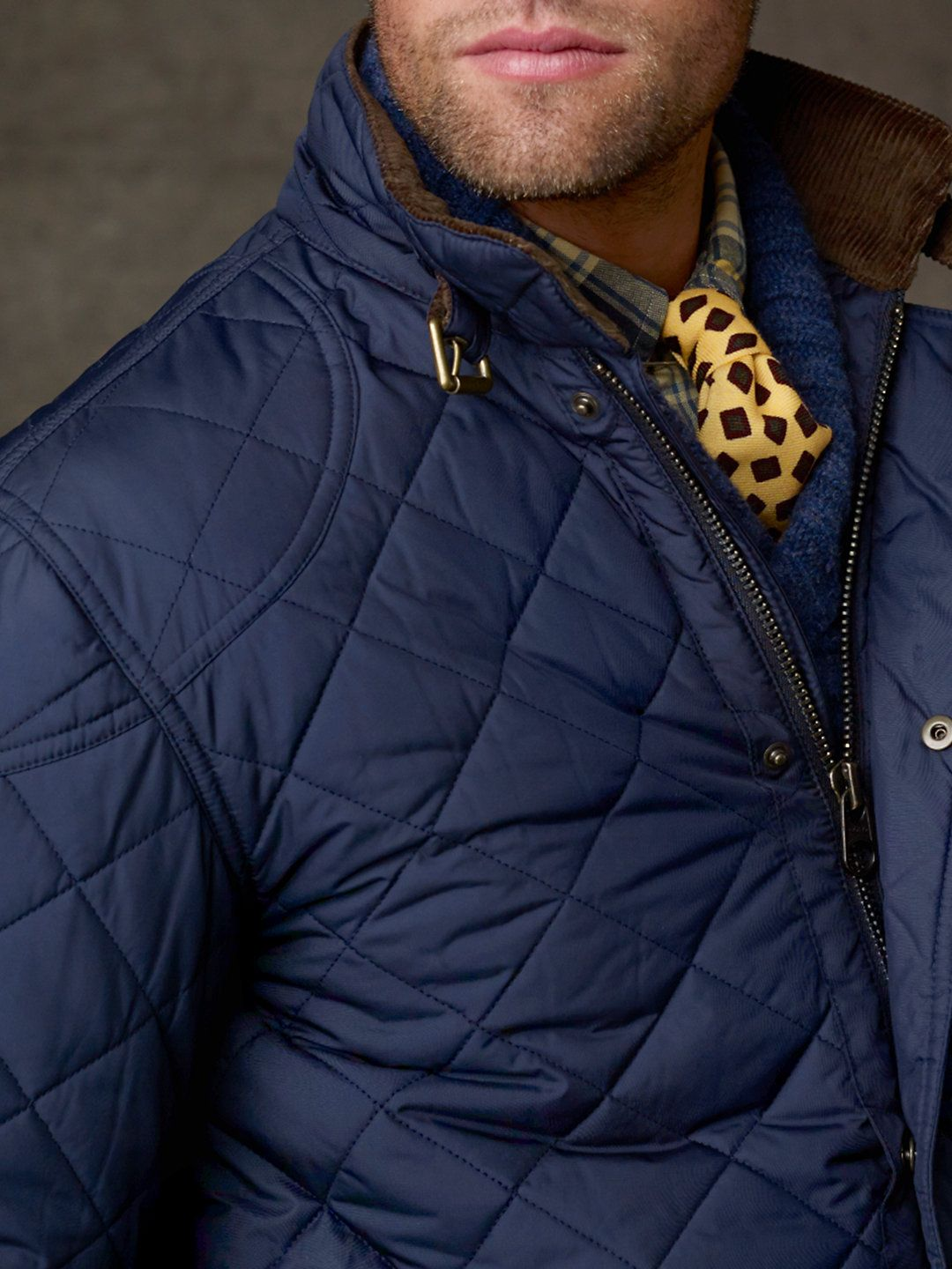Cadwell Quilted Bomber Jacket - Ralph Lauren.