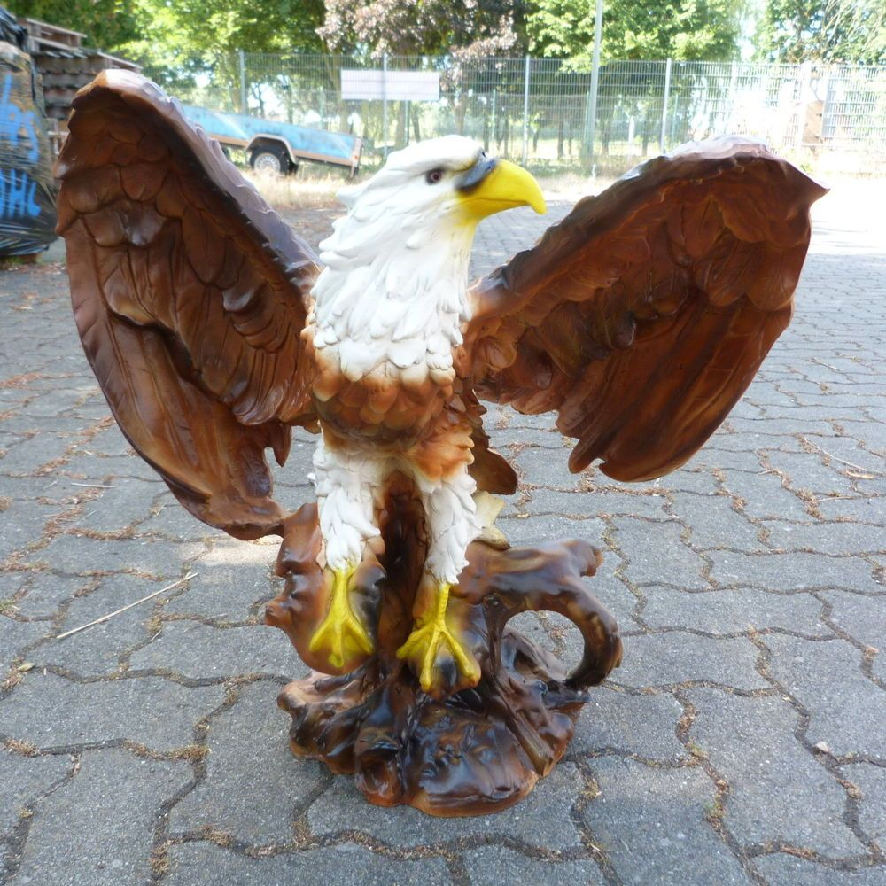 Adler 55 X 56 Cm Adlerfigur Tierfiguren Figuren Garten