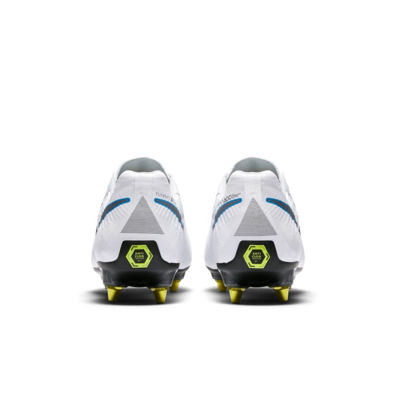 65cce3245518 Nike Tiempo Legend VII Elite Anti-Clog Traction SG-PRO Soft-Ground Football  Boot - White