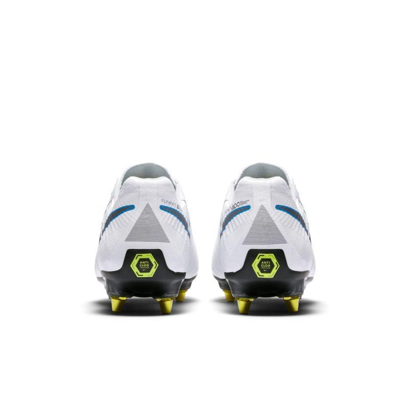 innovative design 9d5b9 cf8ae Nike Tiempo Legend VII Elite Anti-Clog Traction SG-PRO Soft-Ground Football  Boot - White