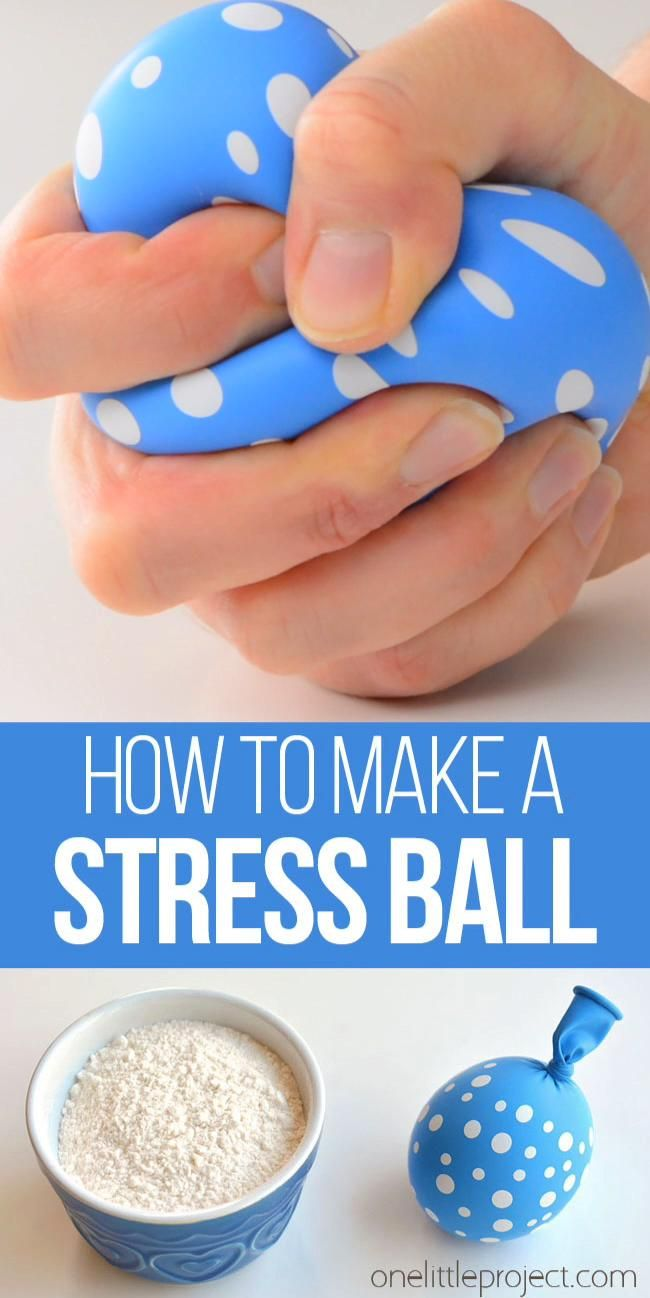 How to Make a Stress Ball: 5 Easy Steps to Make a DIY Stress Ball -   18 diy projects for kids boys ideas