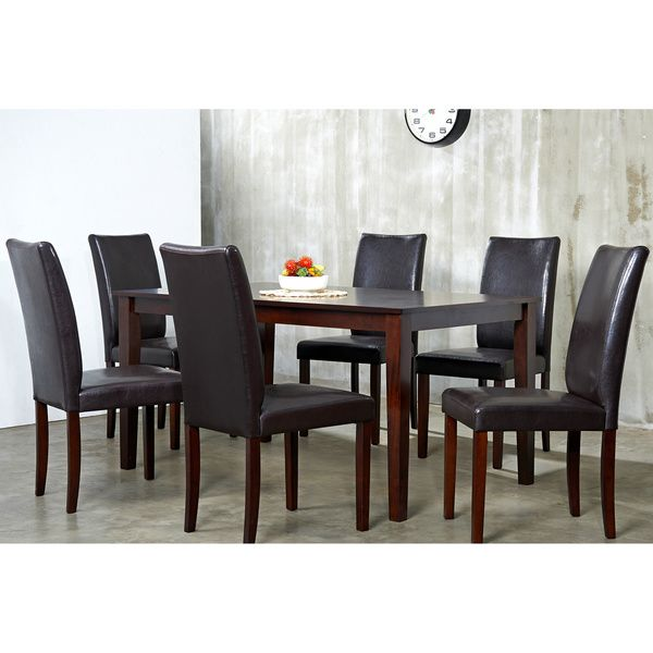 Superior Shino Light Cappuccino Dining Furniture Set   Overstock™ Shopping   Big  Discounts On Warehouse Of Tiffany Dining Sets