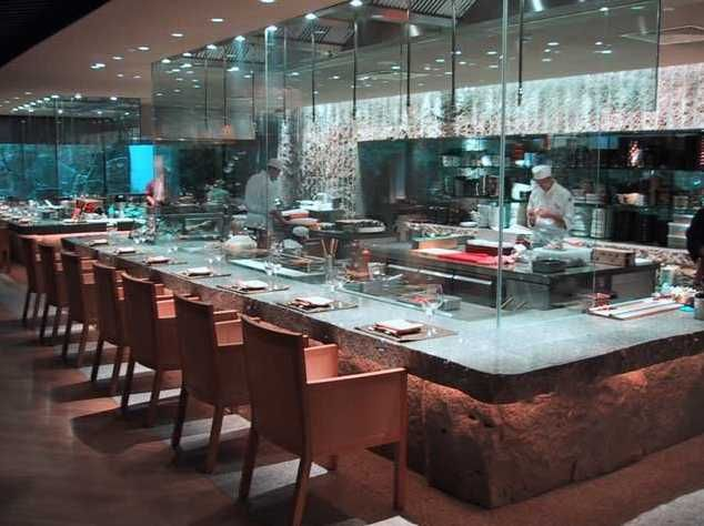 Asian Display Kitchen Restaurant Kitchen Design Bar Restaurant