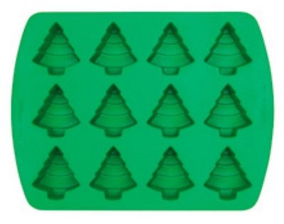 Mini Tree Silicone Mold 12 Cavity By Wilton Silicone Molds Wilton Candy Molds Silicone