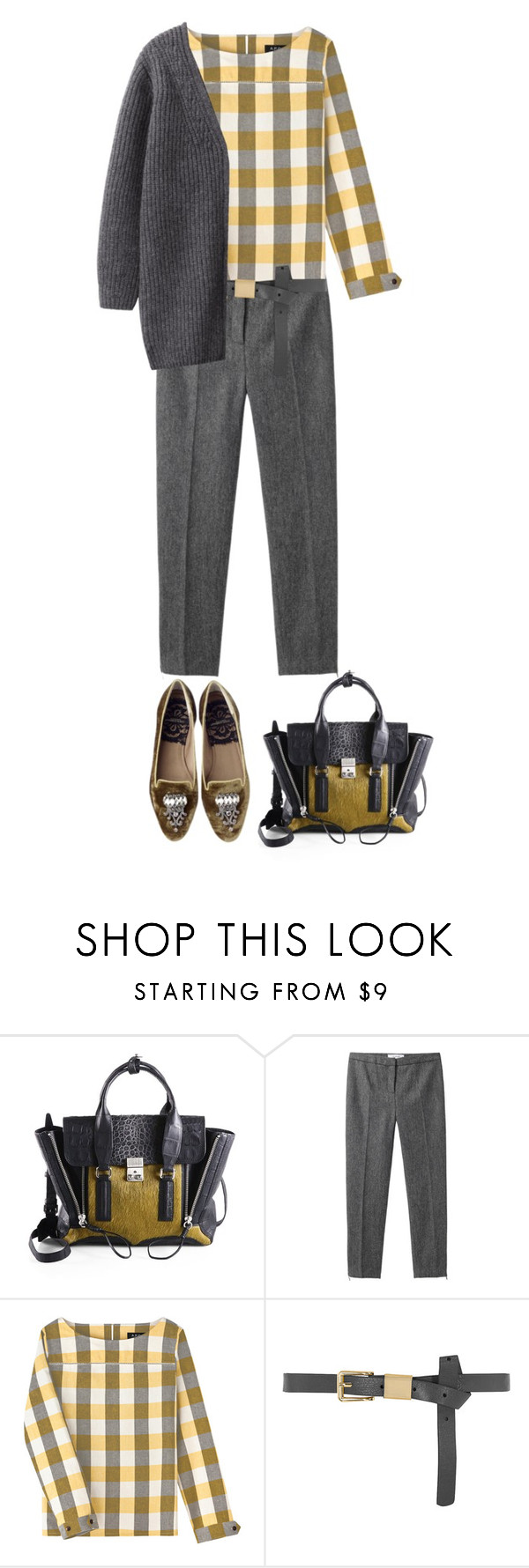 """Bez tytułu #615"" by agniecha ❤ liked on Polyvore featuring 3.1 Phillip Lim, Grey Line By Hussein Chalayan, A.P.C., Dolce&Gabbana, Dorothy Perkins and United Bamboo"