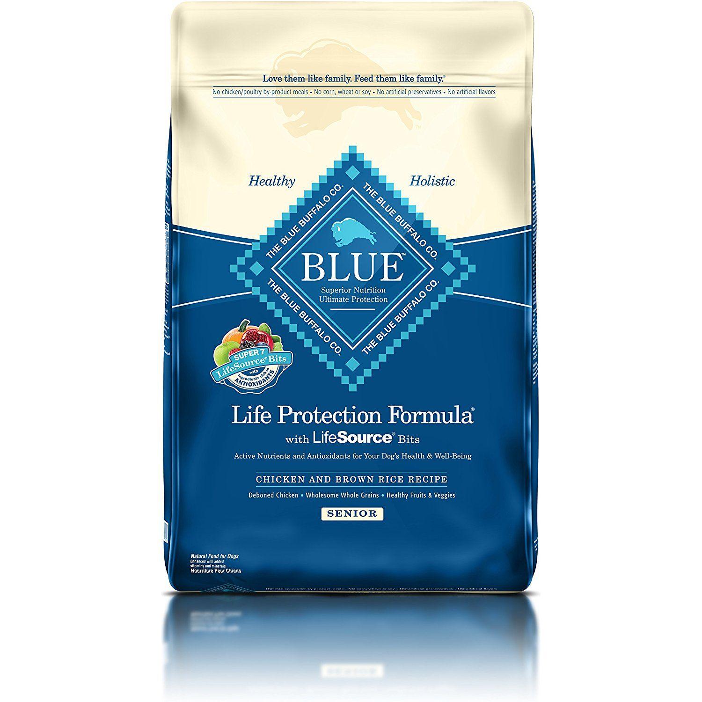 Blue Buffalo BLUE Senior Dog Chicken #PetSupplies | Dog ...