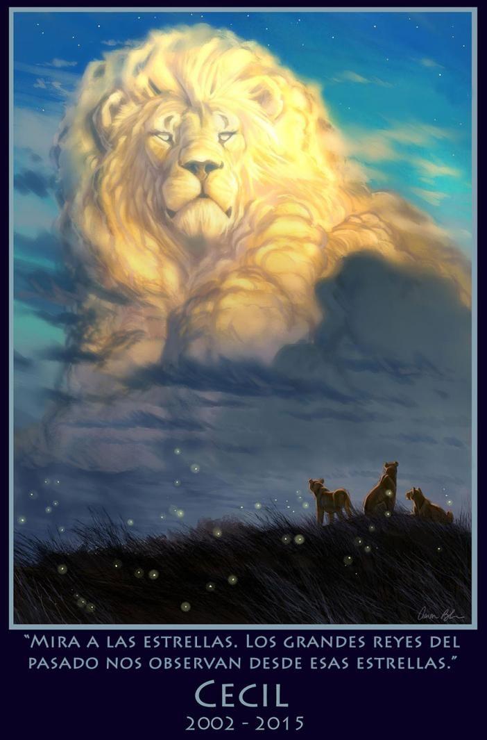 Animador del Rey León hace un hermoso homenaje a Cecil   Cuidar de tu mascota es facilisimo.com