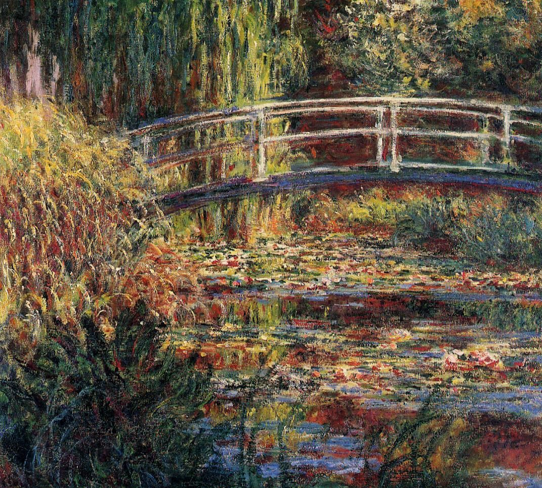 Claude Monet/'s The water Lily pond classic canvas print picture wall art free