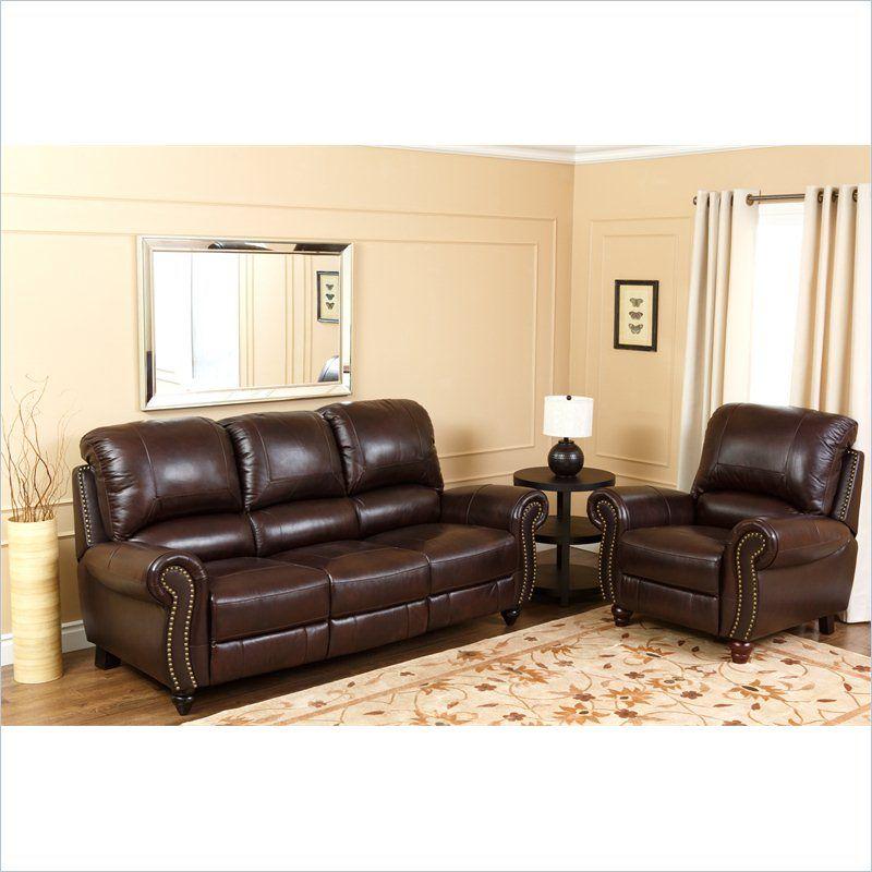 Abbyson Living Herzina Italian Leather Sofa Sets In Two Tone Burgundy Ch 8857 Brg 3 1 Luxury Sofa Modern Luxury Sofa Living Room Recliner