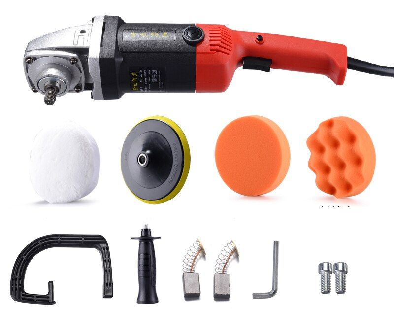 220V Electric Car Polishing Waxing Machine Furniture Floor Tile Grinding Tool 1500W 5003000Rmin Y