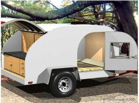 build your own teardrop camping trailer camping teardrop rh pinterest com