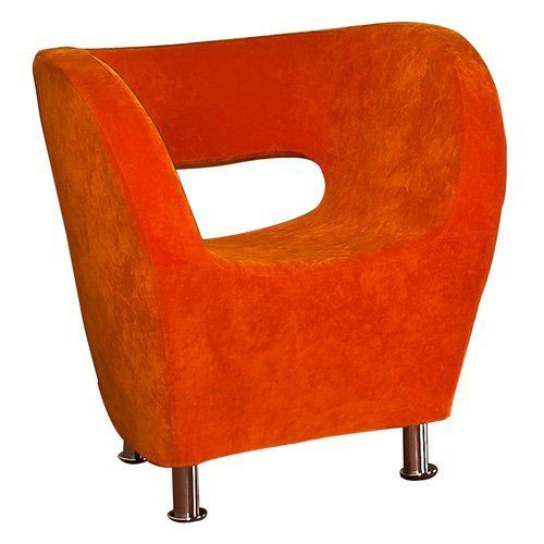 modern fabric chair orange 258647 products pinterest rh in pinterest com