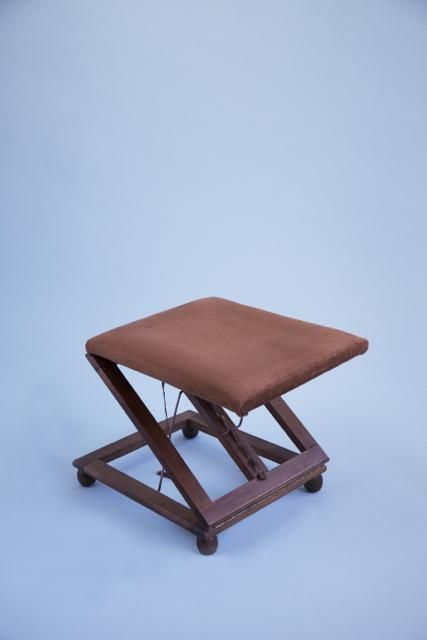 antique french wooden folding footstool vintage retro for sale rh pinterest ca