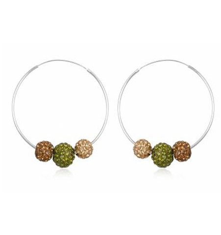 Hoop Earrings. I usually wear blue jeans or khakis ... I don't have much style, so if you send what you like I can't go wrong!