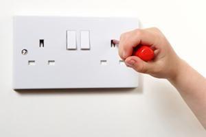 Stromkabel Die Farben Einer Elektroinstallation Steckdose