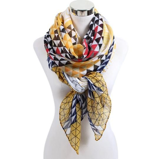 New 160*50cm Korean Style Warm Flower Pattern Chiffon Scarves Paris Yarn Silk Scarf Women Bufandas Mujer Foulard Femme 100% High Quality Materials Women's Scarves