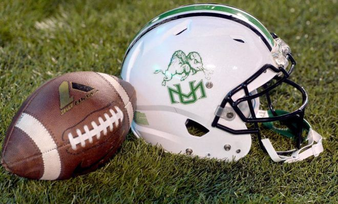Marshall Honors 75 Lost Young Thundering Herd With Rout Of Middle Tennessee 42 17 Marshall Thundering Herd Football Marshall Football Marshall
