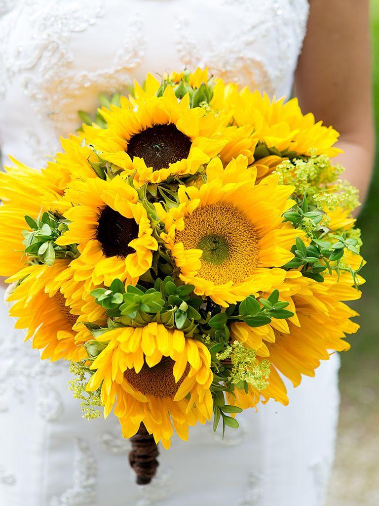 13 Charming Sunflower Wedding Bouquets Wedding bouquets