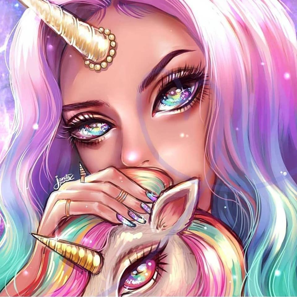 Love Your Unicorn Janita Artist Unicorn Wallpaper Cute Unicorn Drawing Girly Drawings